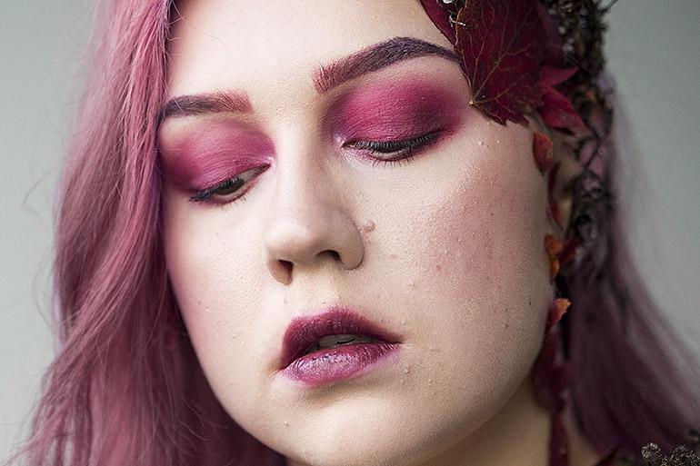 Värikäs syysmeikki syysmeikkihaaste Nikkietutorials BeautyBay