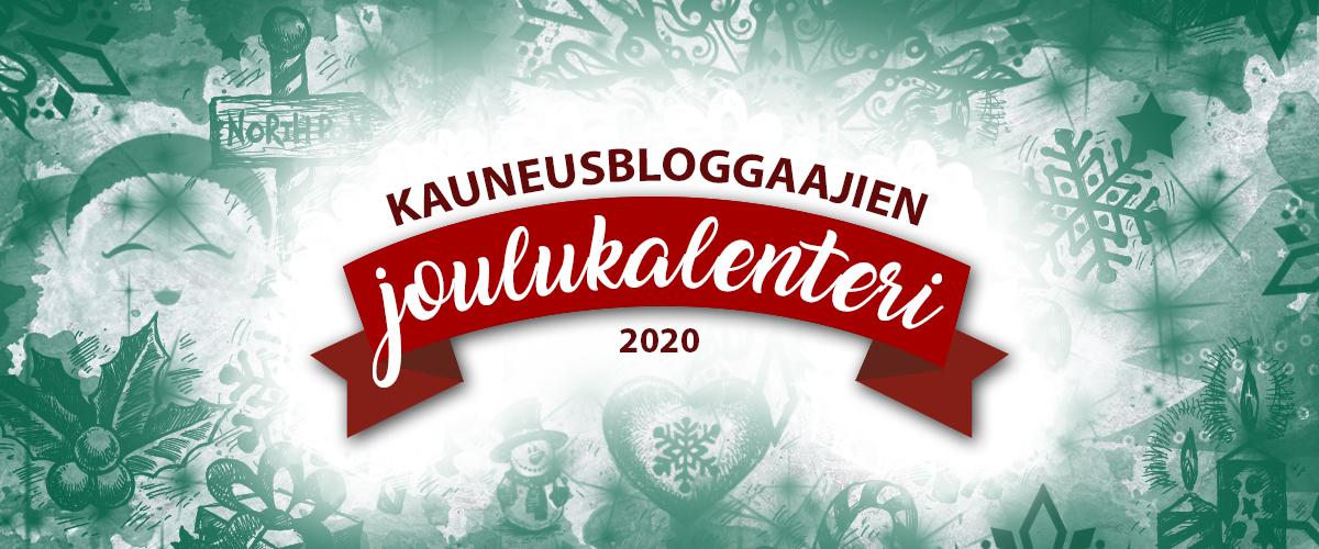 Kauneusbloggaajien joulukalenteri 2020
