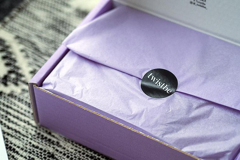 Luonnonkosmetiikan Twistbe Box -kauneusboksi