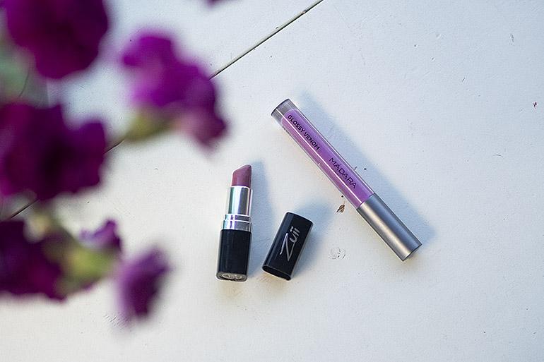 kesän hehku luonnonkosmetiikalla House of Organic Zuii Organic Lipstick Madara lip gloss