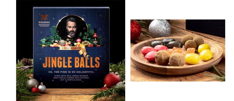 Chili Klaus -joulukalenteri chili joulukalenteri