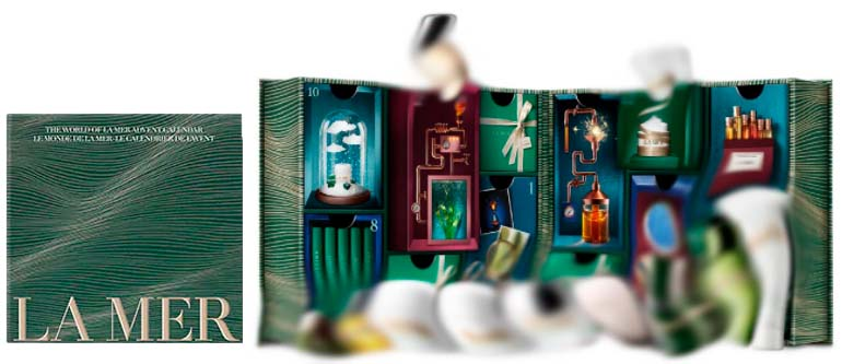 La Mer Joulukalenteri luksusjoulukalenteri